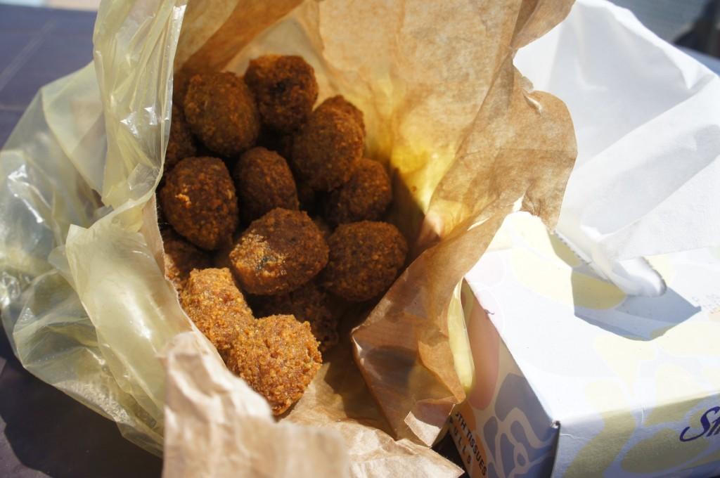 More falafel!