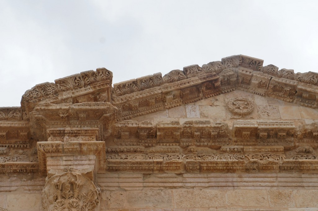 Hadrian's Arch at Jerash.