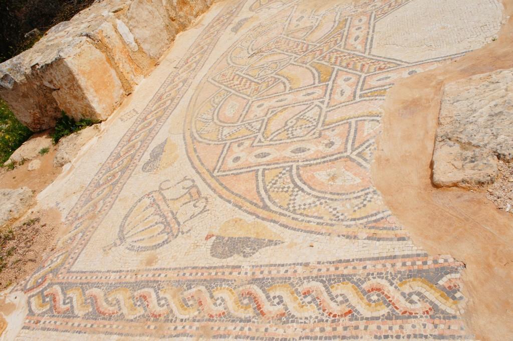 Mar Elias mosaics.