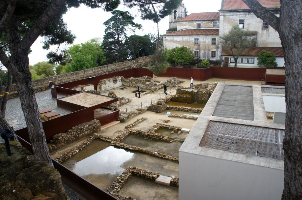 Iron Age site in Lisbon Castle.