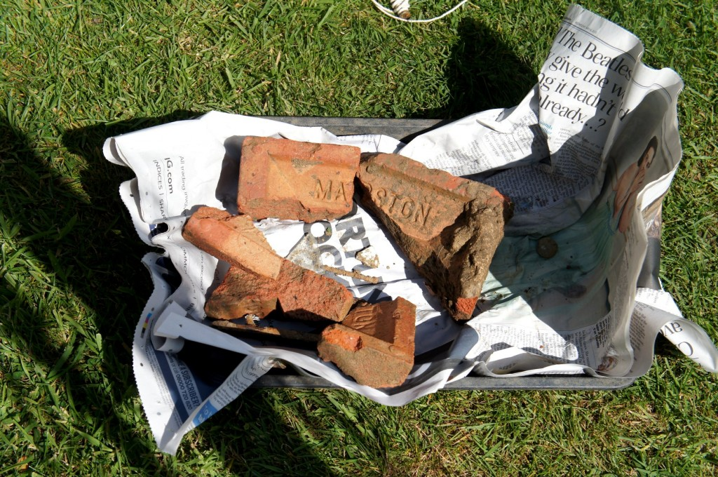 Fragments of Marston Brick.
