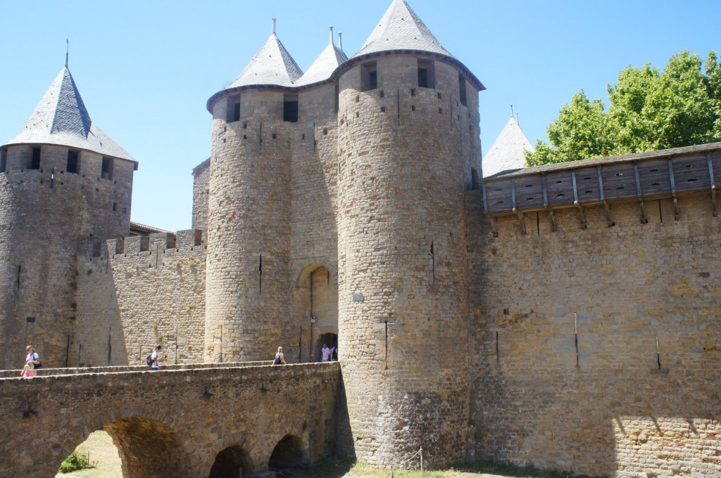 Castle of Carcassonne.
