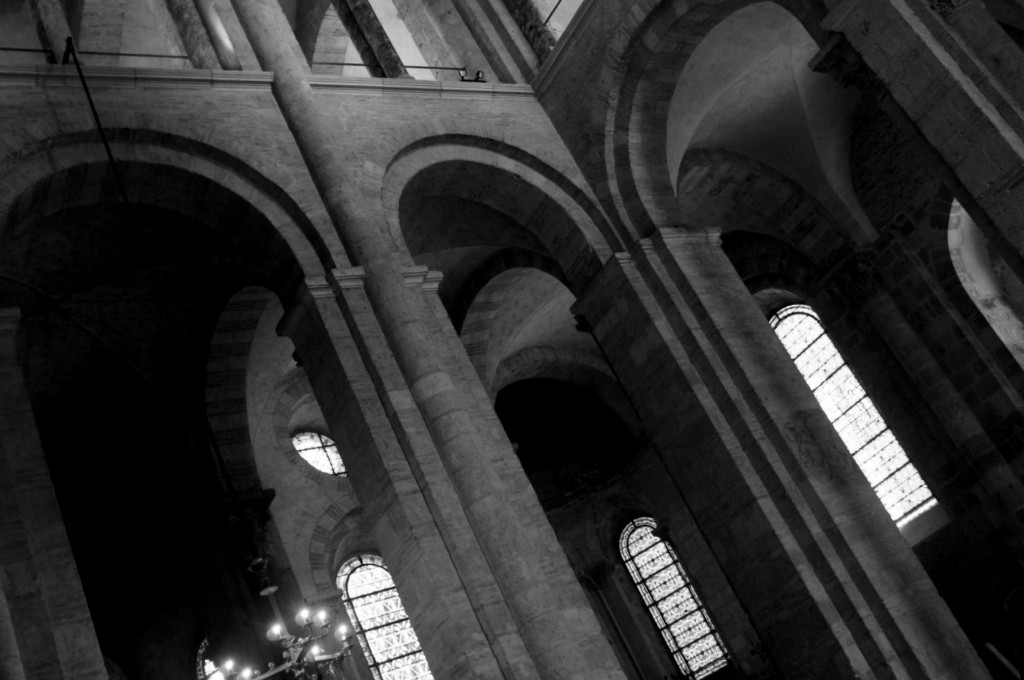Inside the Basilica of St. Sernin, Toulouse.