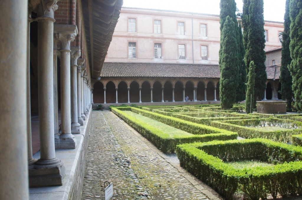 Cloister of the Jacobin Convent, Toulouse.