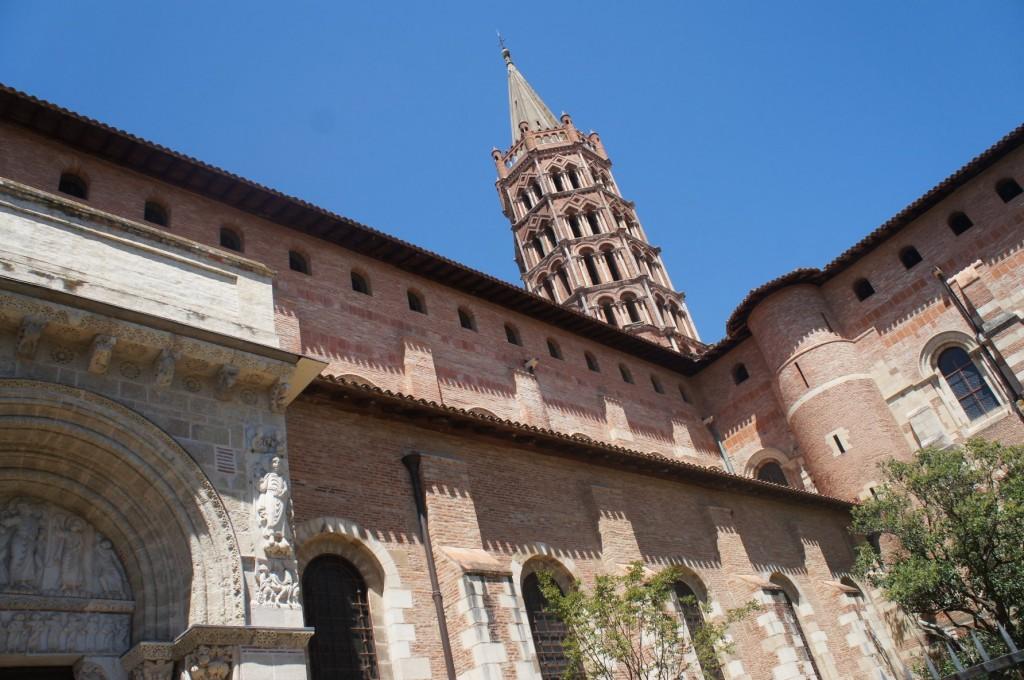 Basilica of St. Sernin, Toulouse.