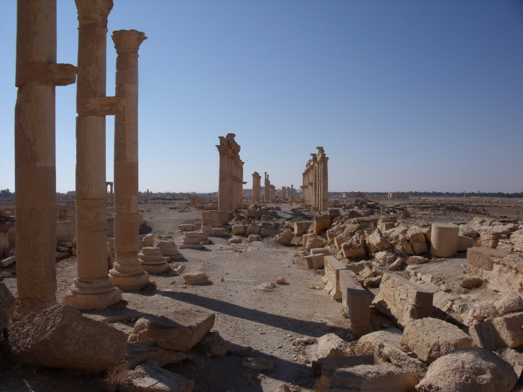 Great Colonnade of Palmyra, 2010.