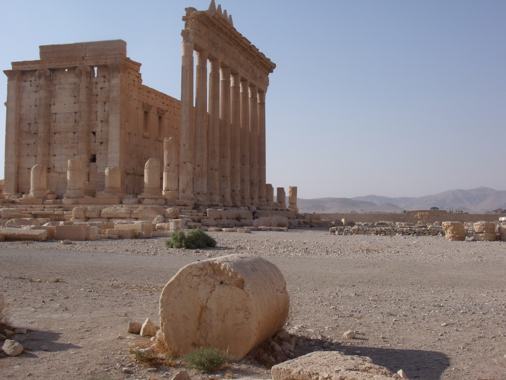 The Temple of Bel, Palmyra, 2010.