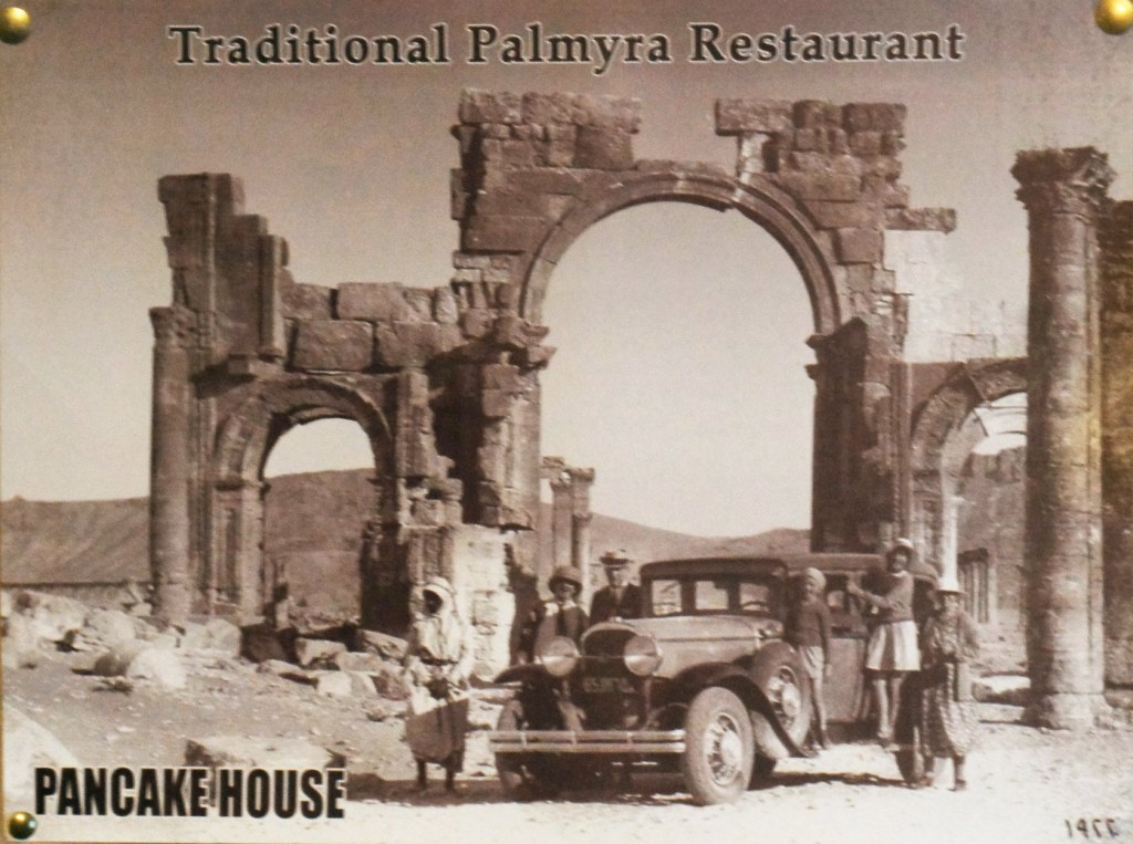 Picture given to me by the Palmyra Pancake House, 1922/2010.