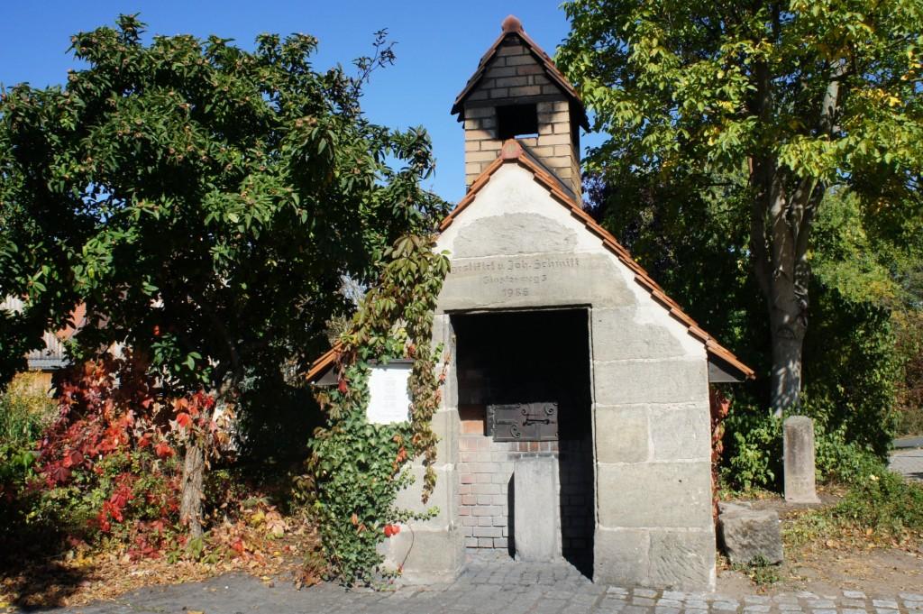 Bräuningshof village centre.