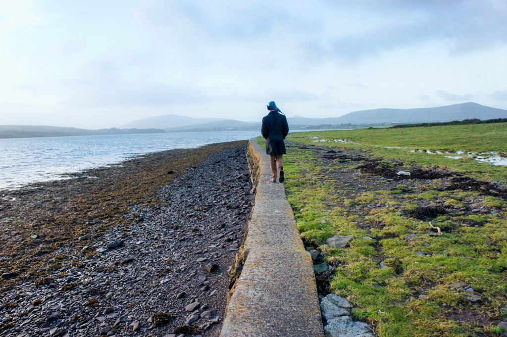 Walking along Dingle harbour : )