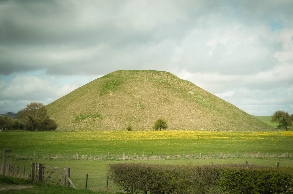 Adam`s Grave longbarrow.