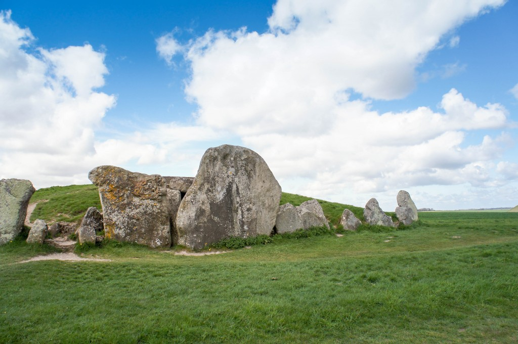 Exterior of West Kennet longbarrow.