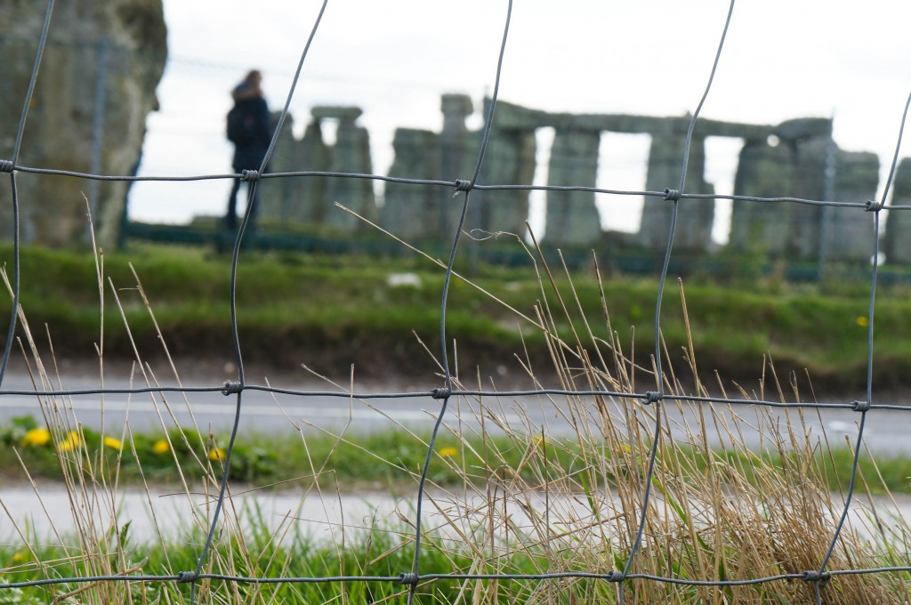 Realistic close-up of Stonehenge.