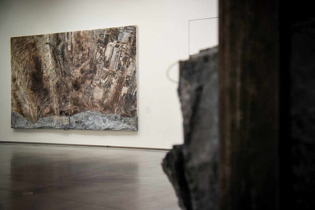 'Barren Landscape' by Kiefer, in the AFM.