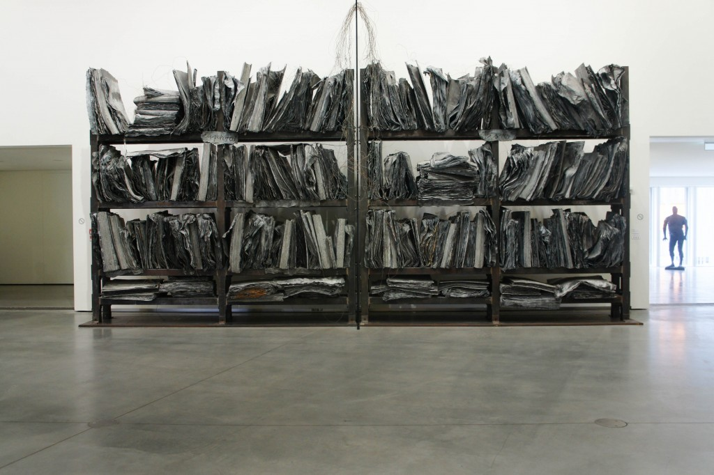 'High Priestess / Sweistromland' by Kiefer, at the AFM.