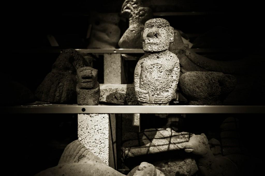 Little Easter Island figurines.