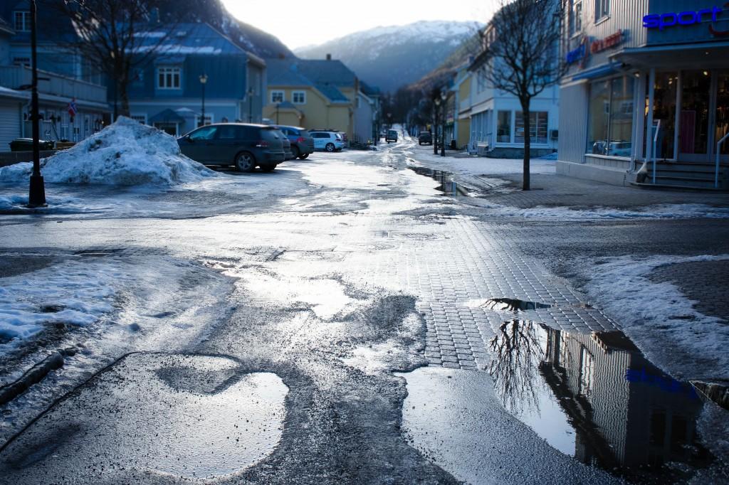 Streets of Rjukan.
