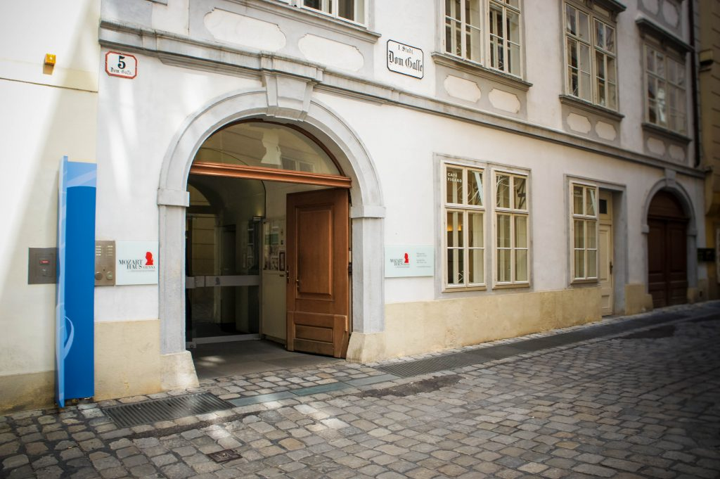 The Mozart House.