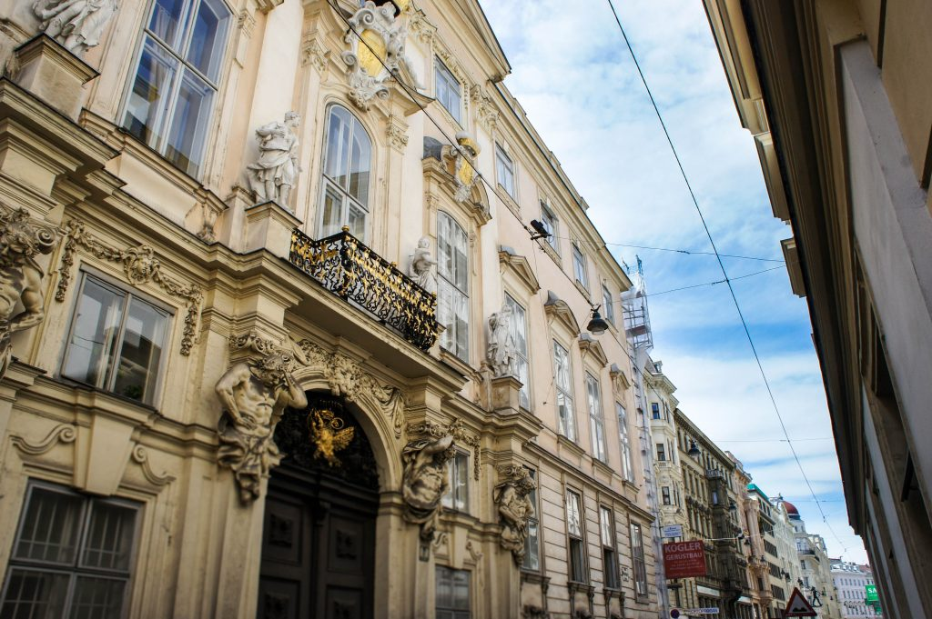 More beautiful streets of Vienna