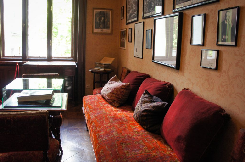 The office of Sigmund Freud