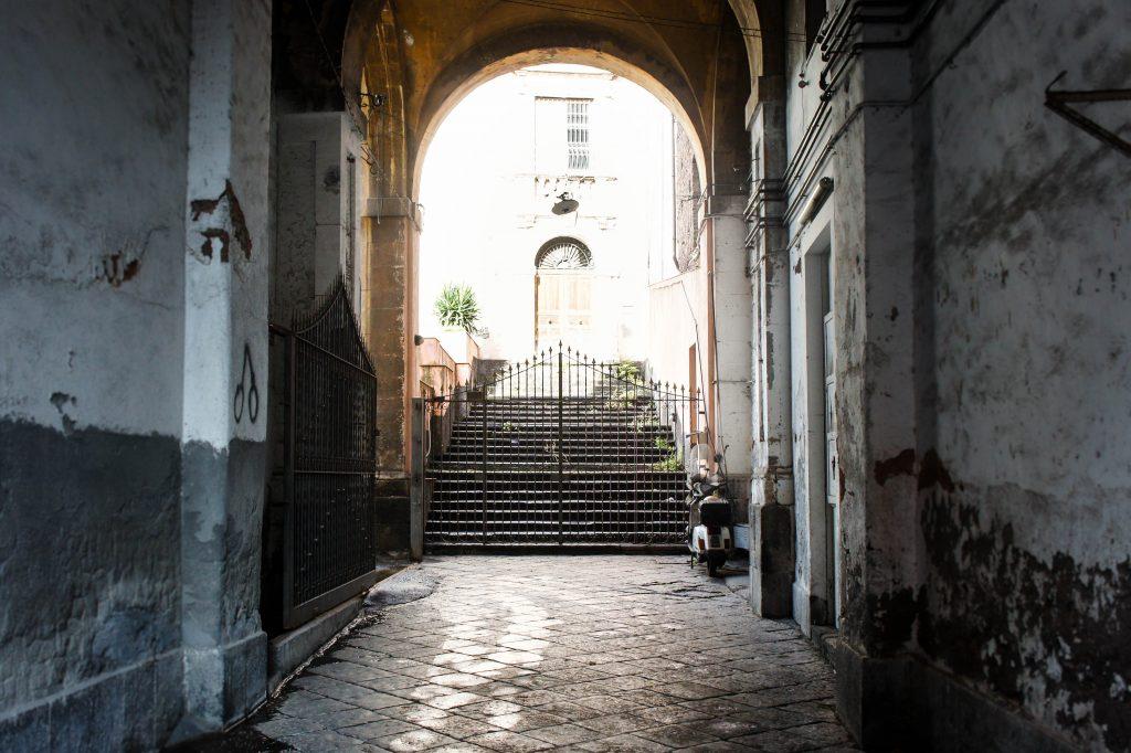 Sunnier Catania streets.