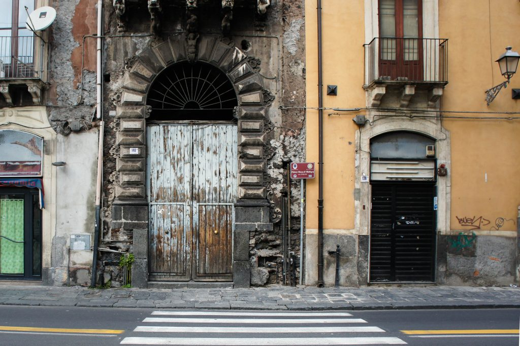 Doorways of Catania.