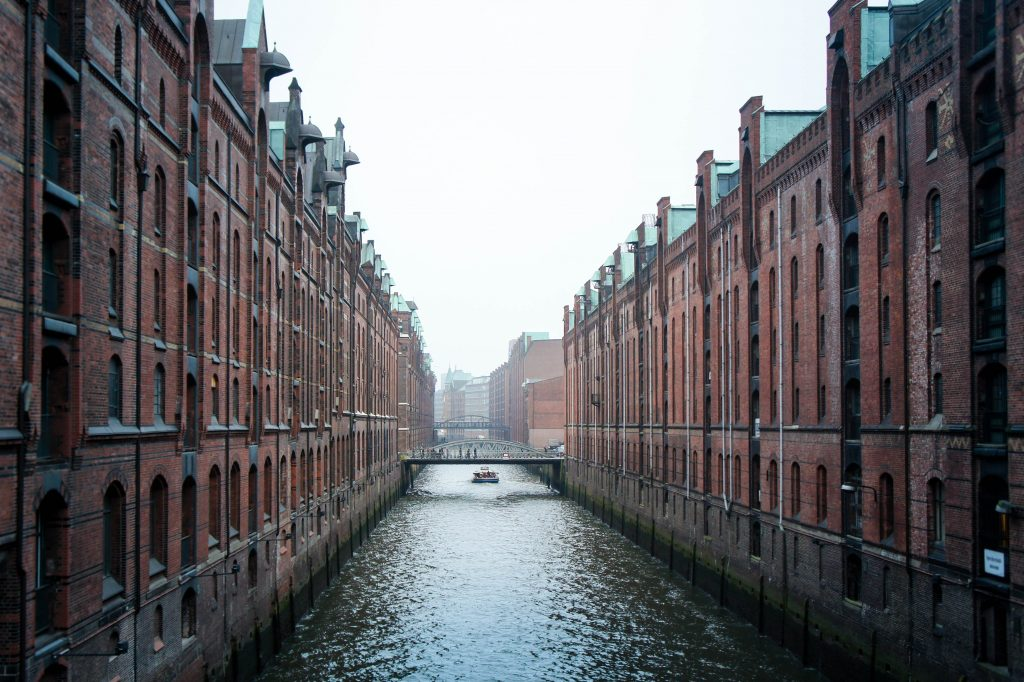 The Hamburg storehouses.