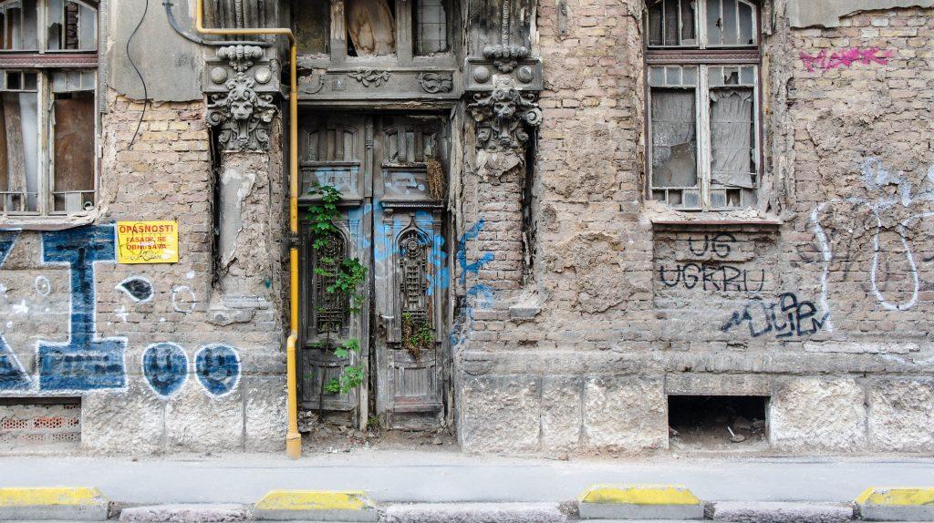 Old buildings of Sarajevo.