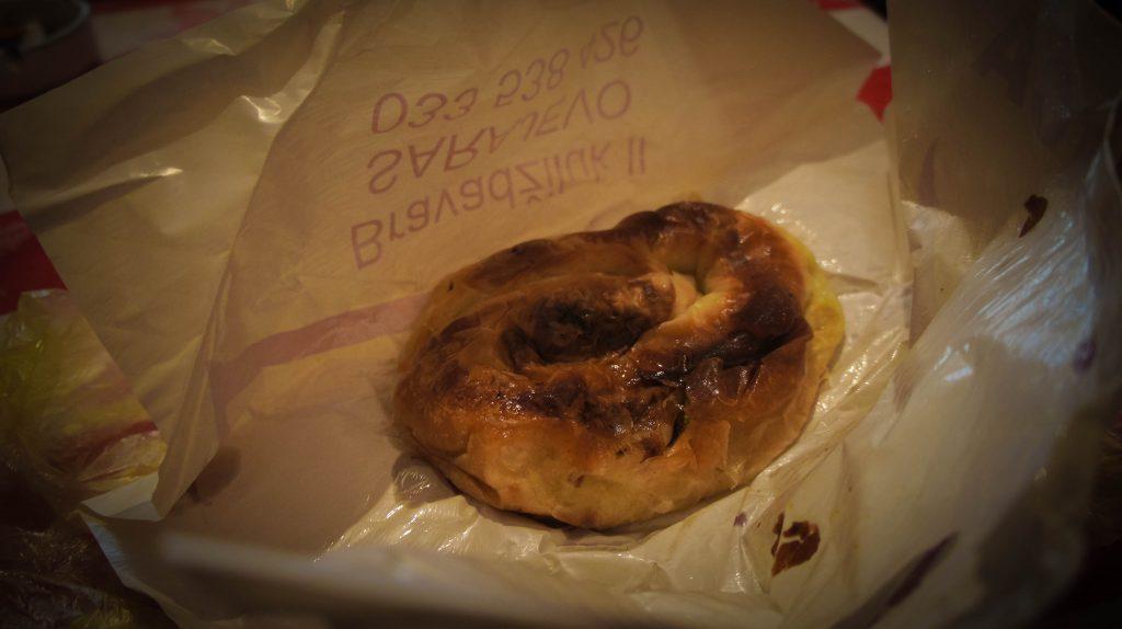 The famous Sarajevo börek : D (way more delicious than it looks)