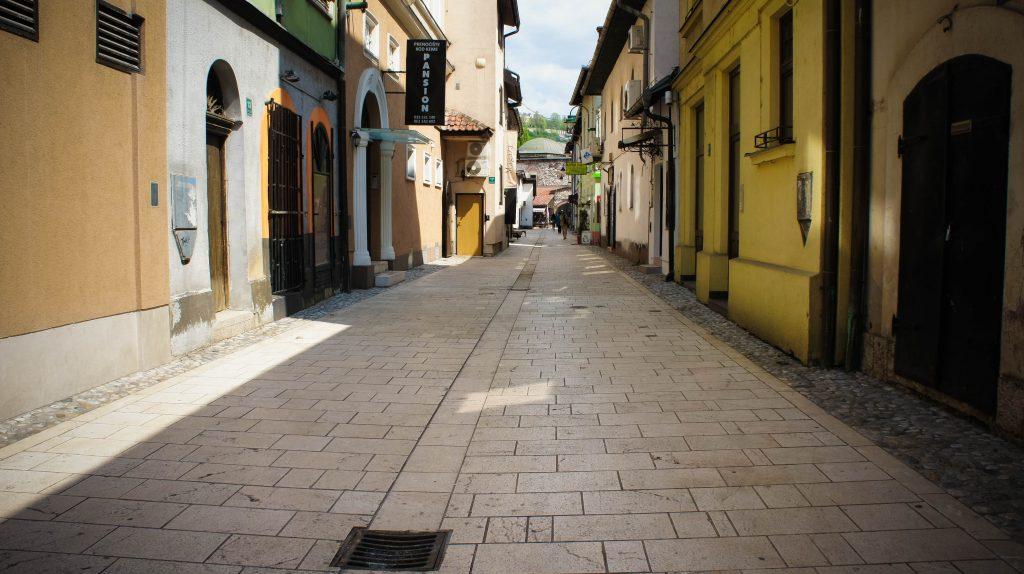 Streets of Sarajevo.