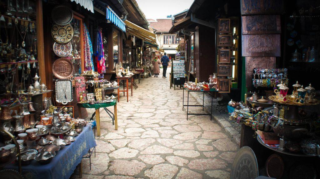Sarajevo bazaar!