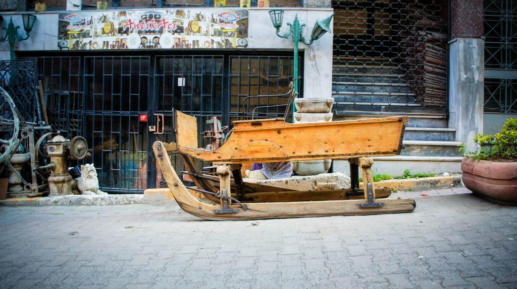 Cihangir is a weird neighbourhood. Love it!